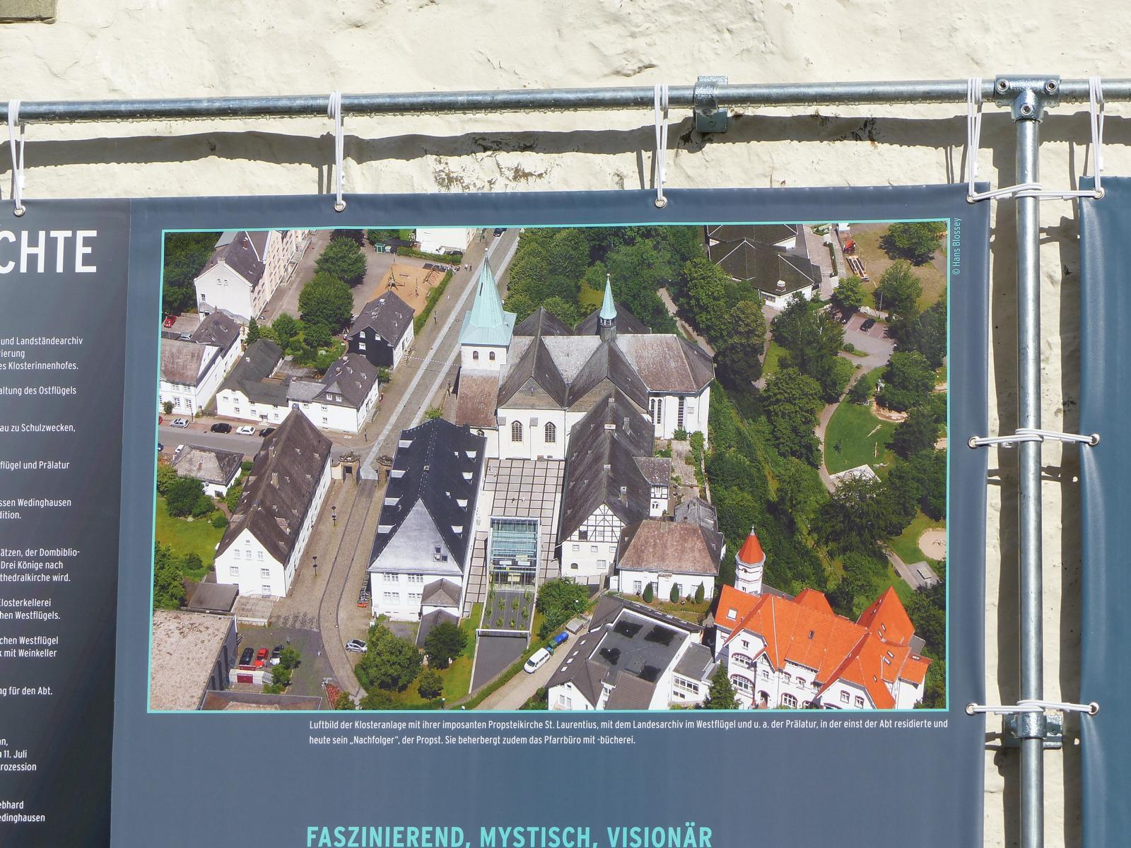 Arbeitskreis besucht das Kloster Wedinghausen in Arnsberg